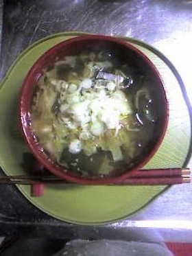 さっぱり~(* ̄▽ ̄*)な梅干スープ