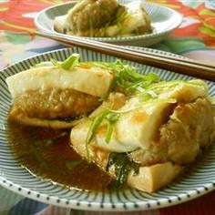 簡単*豆腐のひき肉はさみ煮