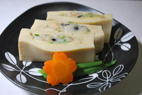 10分簡単♪ すり身入り高野豆腐の煮物