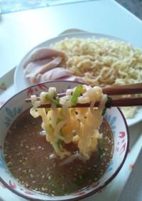 マルちゃん正麺(味噌)で簡単つけ麺♪