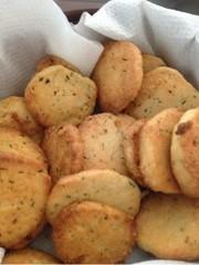魚焼きグリルでアイスボックスクッキーの写真