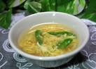 簡単♪ 絶品 絹さやと竹輪のスープ