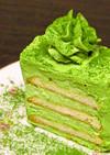 黒柳徹子さんのケーキ(はちみつ抹茶味)