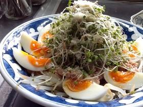 モヤシとブロッコリースプラウトのサラダ