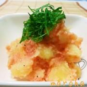 明太ポテトサラダの写真