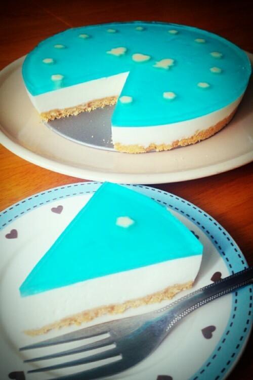七夕☆レアチーズケーキ