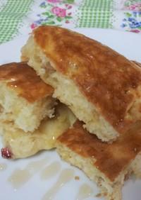 フルグラ入りボリューミーパンケーキ♪