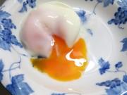 電子レンジで温泉卵♪の写真
