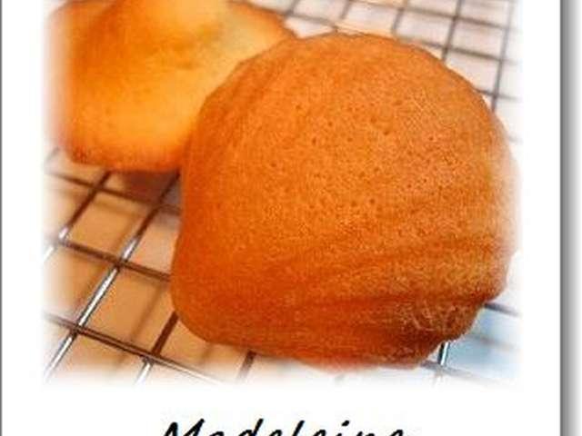 マドレーヌ レシピ