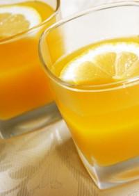 ♡オレンジとマンゴーの大人ゼリー♡