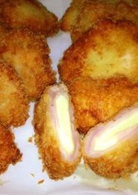 チーズトローハムチーズオイル塩麹豚カツ