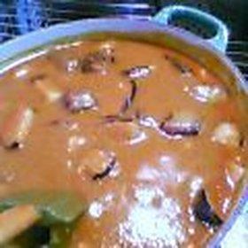 大根トロトロカレー(揚げ茄子、ひよこ豆入り)
