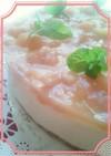桃の季節到来☆豆腐ヨーグルトでデザート4