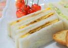 簡単♪ 薄焼き玉子のサンドイッチ