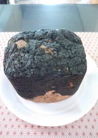 HBで作る麻炭メロンパン