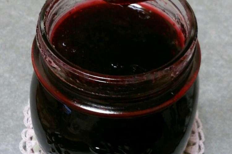 ブラック ベリー の ジャム の 作り方 【みんなが作ってる】 ブラックベリージャムのレシピ