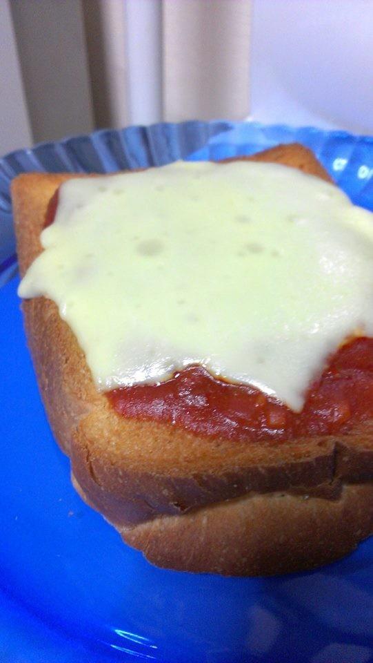 ピザじゃないよチーズミートソーストースト