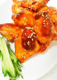 鶏胸肉で照り焼きチキン☆甘酢ケチャップ