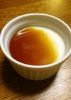 和風デザート 豆腐のプリン