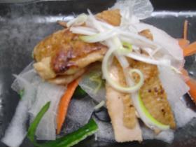 鶏と野菜のパリパリパクリン