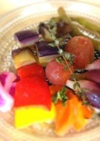 夏野菜の甘酒マリネ