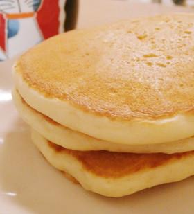 簡単ふわふわん!ハワイ味のパンケーキ☆