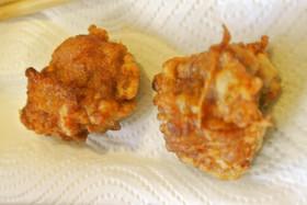 ケロヨン流カリサクお弁当用鶏の竜田揚げ