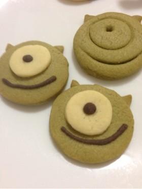 モンスターズインクのマイククッキー!