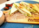 サッパリ♡ササミ&柚子胡椒のサンドイッチ