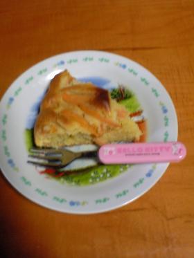 柿のバターケーキ