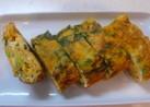 お弁当に!小松菜入り厚焼き卵