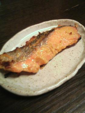 鮭の酒粕味噌漬け