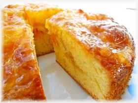 オレンジとみかんのケーキ
