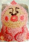 デコレーションケーキ☆カクレモモジリ