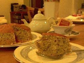 超簡単、紅茶のチーズケーキ
