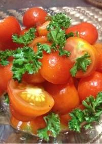プチトマトのマリネ風サラダ