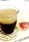 果莉那&コーヒーで2層の大人のゼリー