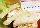 チーズとナッツのマーマレードサンドイッチ