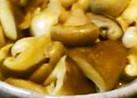 茸のバタポン炒め
