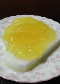 果莉那-Carina乗せヨーグルトケーキ