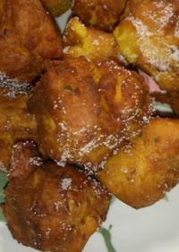 天ぷら粉で簡単南瓜たっぷりドーナッツ