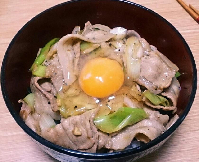 ☆祝☆れぽ800!完全再現☆伝説のすた丼