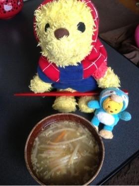 ヘルシーもやしのスープ