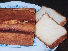 クリームチーズのパウンドケーキ♪