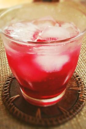りんご酢甜菜糖使用☆優しいしそジュース