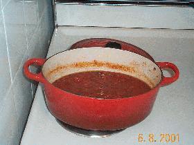 ハーブたっぷりのトマトソース