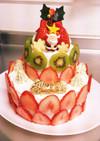 二段クリスマスケーキ