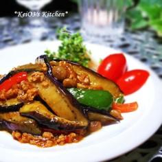 野菜たっぷり簡単マーボ茄子