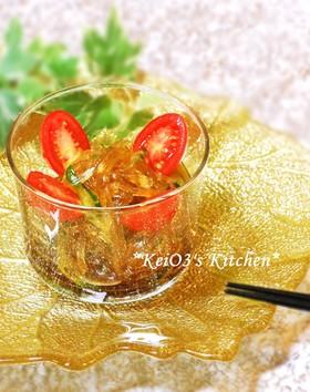 春雨ときゅうりの中華風サラダ