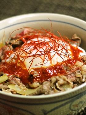 牛丼♪(東京牛丼風)